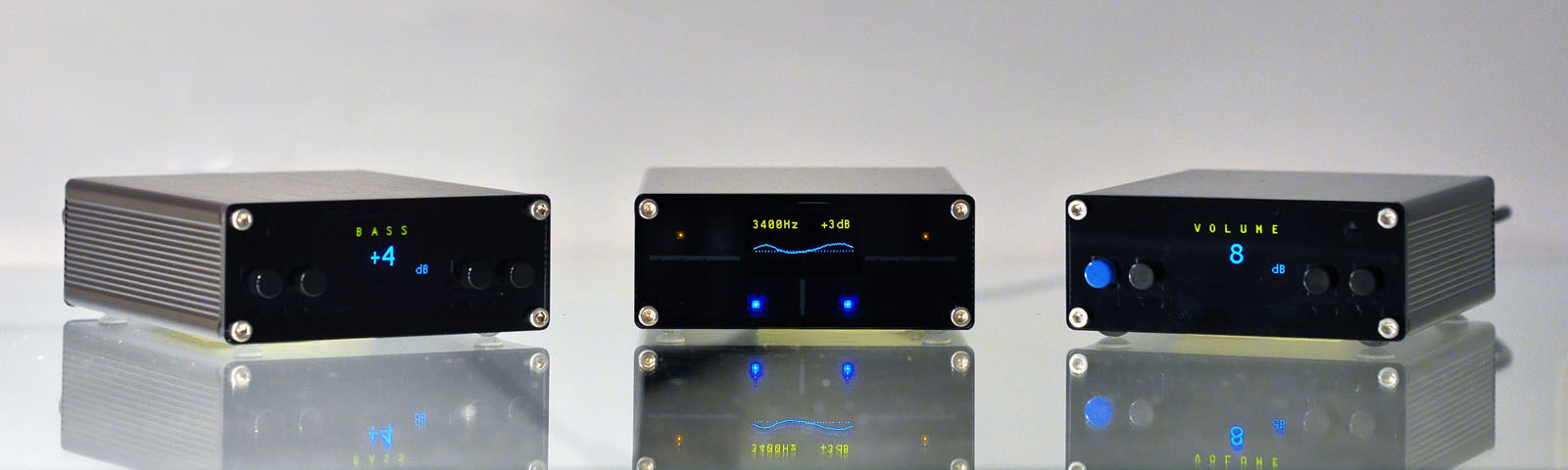 AMPER Pure Digital Audio Amplifier miniDSP