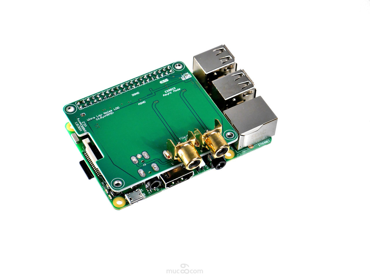 SABREberry ES9023 Flip-Chip