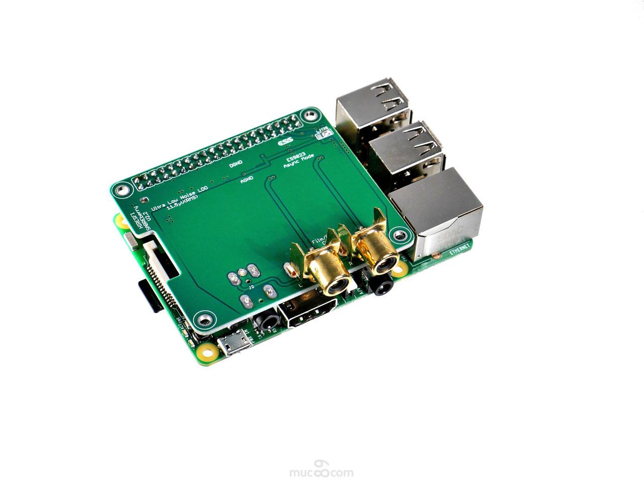 SABREberry ES9023 Flip-Chip
