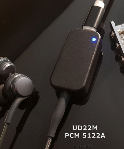 arteluxa USB-C DAC UD22M Headphone Amplifier